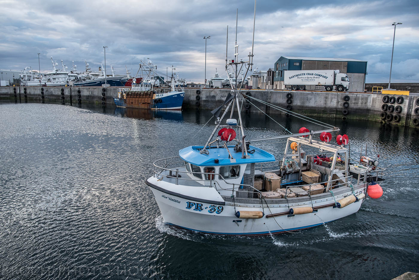 Some Bait Some Boats And The Bay Discover Fraserburgh